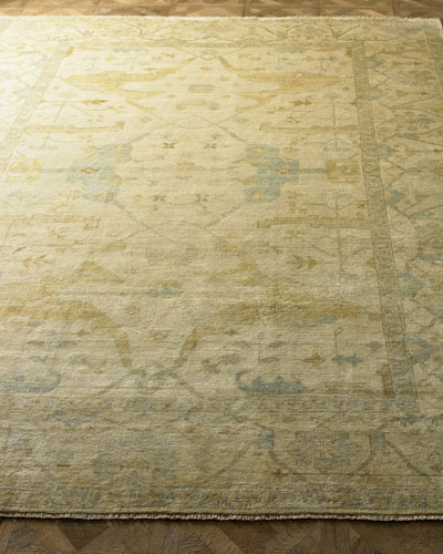 Meadow Oushak Rug, 4' x 6'