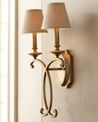 Rustic Bronze Sconce