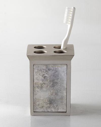 Kassatex Palazzo Vintage Toothbrush Holder