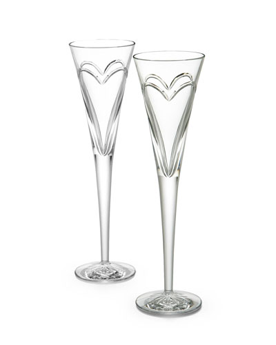Wishes, Love, & Romance Flutes, Set of 2