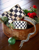 "Courtly Check 4"" Ribbon"