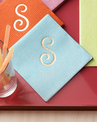 100 Lizard Cocktail Napkins