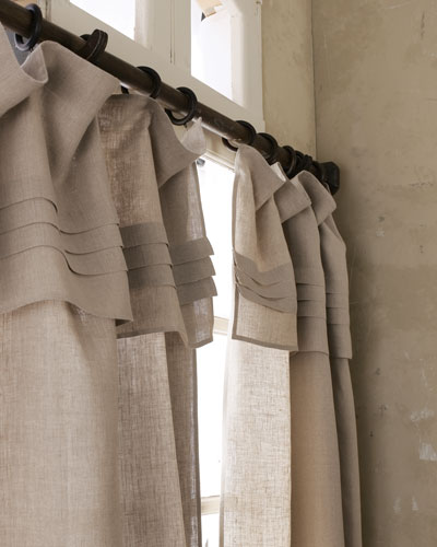 Pine Cone Hill 96L Pleated - Top Curtain