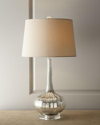 Quick look regina andrew design · antiqued glass table lamp