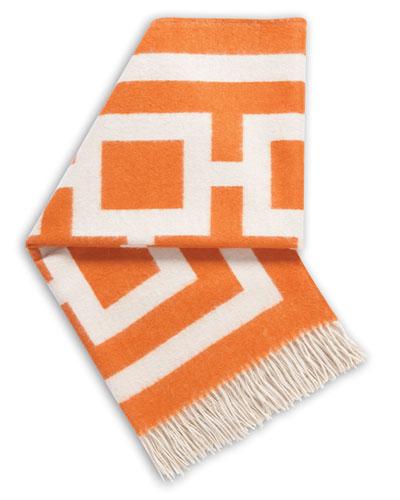 Orange Nixon Throw