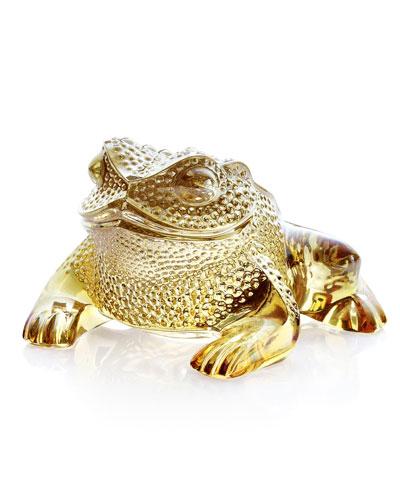 Gregoire Frog Sculpture