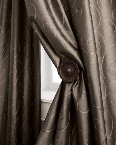Each Valencia Scroll Curtain, 55