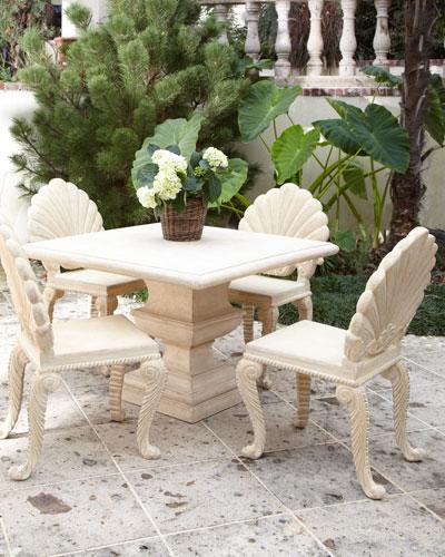 Alexandra Outdoor Urn Pedestal Table