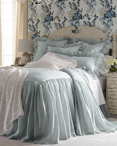 King Savannah Skirted Coverlet