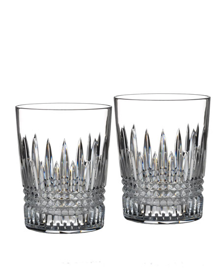 Waterford Crystal Lismore Diamond Tumblers, Set of 2