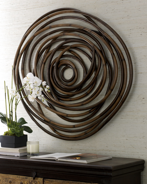 Wood Swirl Wall Decor