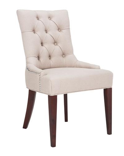 Amanda Linen Dining Chair  sc 1 st  Neiman Marcus & White Linen Chair | Neiman Marcus