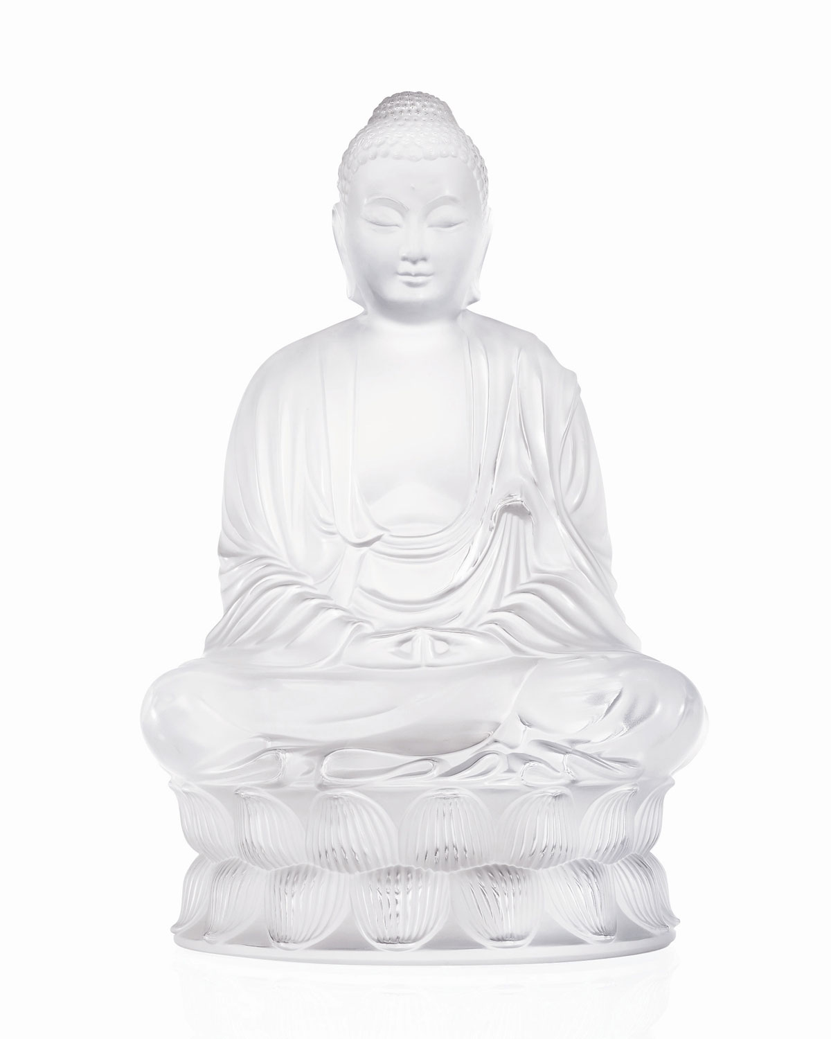 Lalique Clothing CLEAR BUDDHA FIGURE