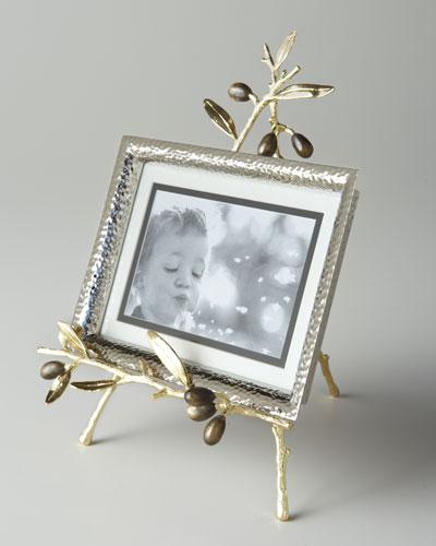 Olive Branch Easel Picture Frame