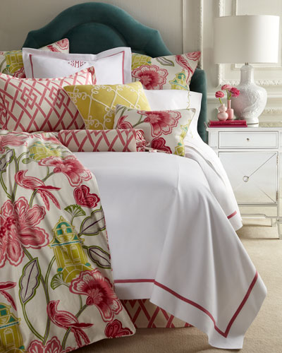 Queen Garden Gate Floral Duvet Cover