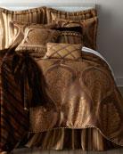 King Carlisle Striped Dust Skirt