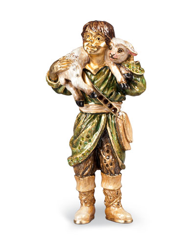 Shepherd Boy Figurine