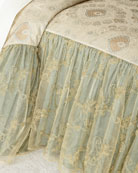 """Crystal Palace 28""""L Full Coverlet"""