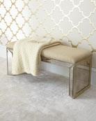 Shilo Mirrored Bench