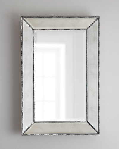 Beaded Wall Mirror, 24