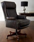 Mason Leather Desk Chair