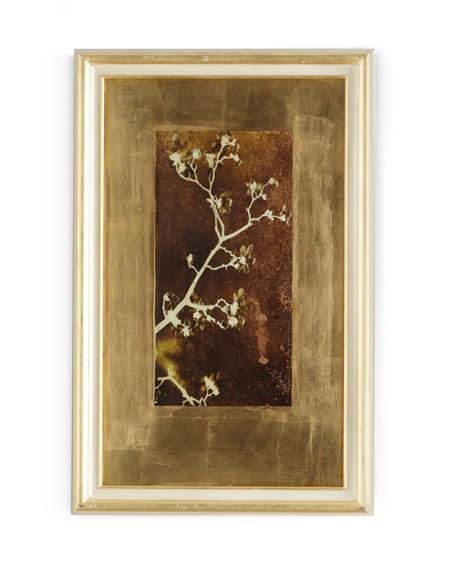 "John-Richard Collection ""Gold Leaf Branches I"" Print"