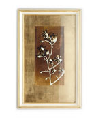 """Gold Leaf Branches II"" Print"