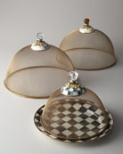MacKenzie-Childs Large Courtly Check Mesh Dome