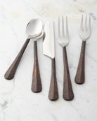 Simon Pearce 5-Piece Woodbury Flatware Place Setting
