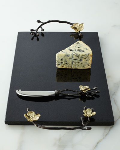 Gold Orchid Cheese Board