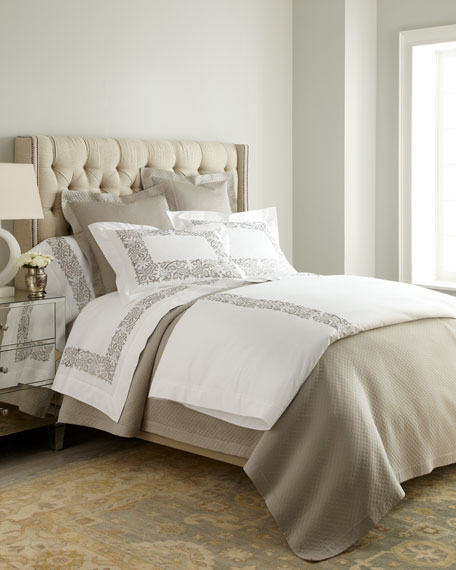 Sferra King Plumes Embroidered Sham