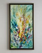 """Gladiolus"" Jinlu Original Oil Painting"