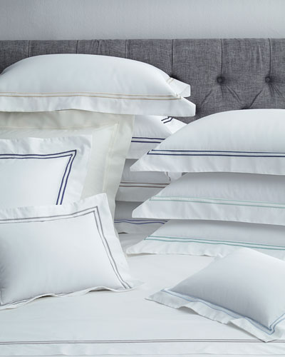 Full New Resort 200 Thread-Count Solid White Fitted Sheet