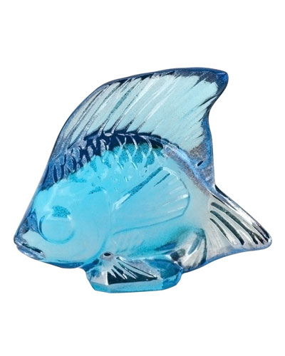 Lustre Blue Fish