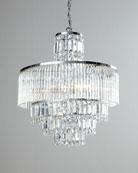 Rossborough 8-Light Crystal Chandelier