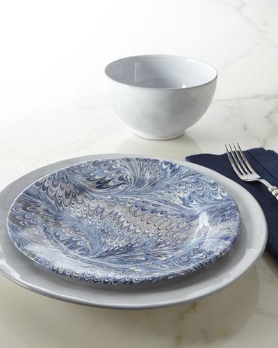 Four Delft-Blue Firenze Salad Plates