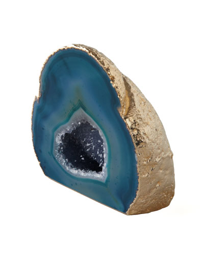 Green Agate Geode