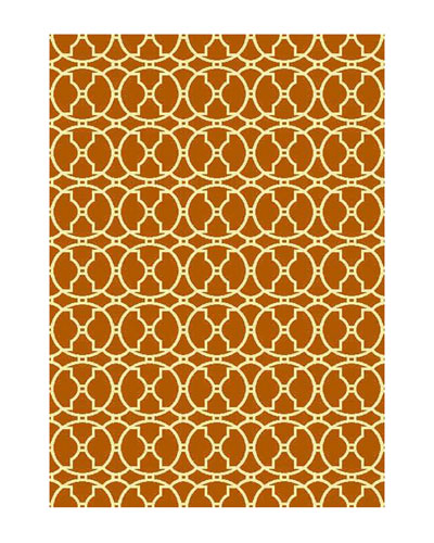Baja Circles Indoor/Outdoor Rug, 2'3
