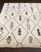 Moroccan Sand Rug, 6' x 9'