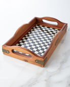Small Courtly Check Hostess Tray