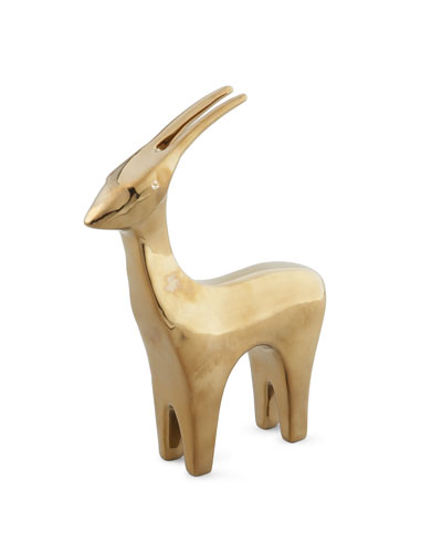 Golden Antelope Sculpture