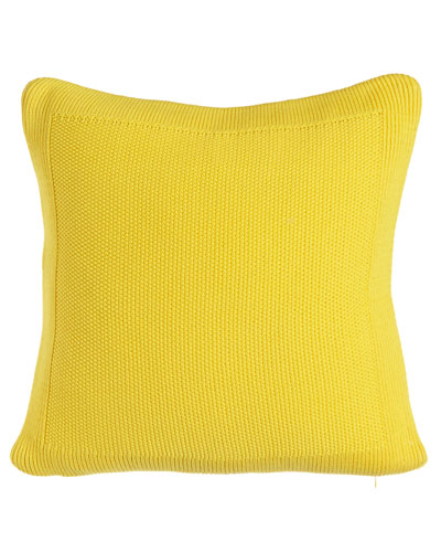 Walker Seed-Stitch Pillow, 20