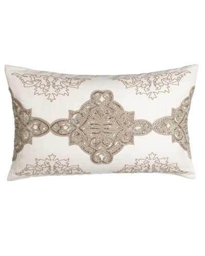 Avalon Sequined/Beaded Pillow, 16