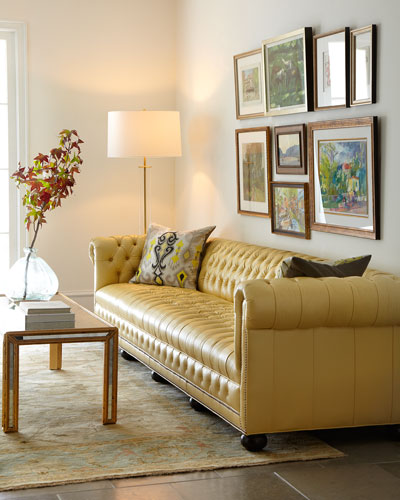 Old Hickory Tannery Sofa Neiman Marcus