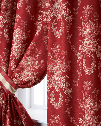 Two French Country Curtains, 52