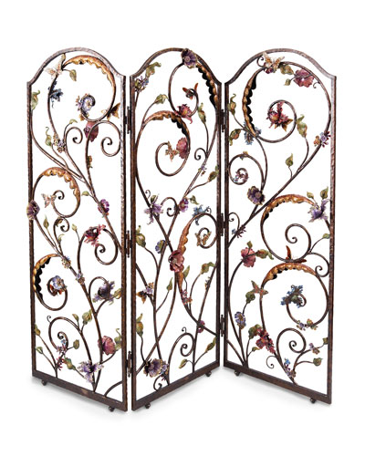 Celeste Floral Wall Screen