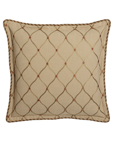 Casablanca Embroidered Ogee European Sham