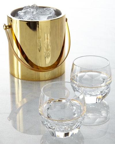 Two Elysian Rocks Glasses
