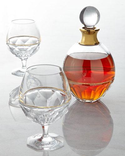 Two Elysian Brandy Glasses