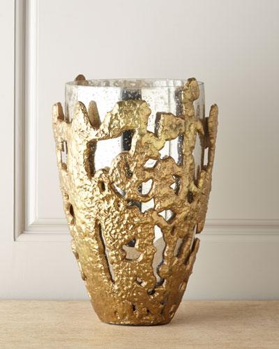 Molten Lace Vase